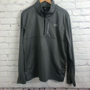 The North Face Jacket Gray Lightweight Size XL